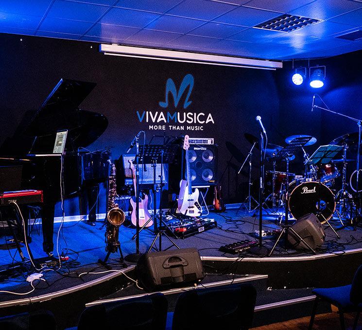 Il nostro Auditorium è uno spazio che ruota attorno alla musica.